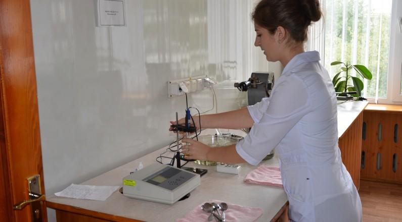 Лабораторний аналіз сировини
